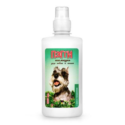 ПЭГГИ шампунь с соком алоэ для собак и кошек