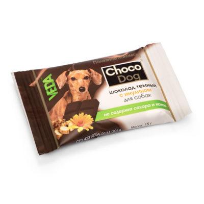 CHOCO DOG® шоколад тёмный с инулином