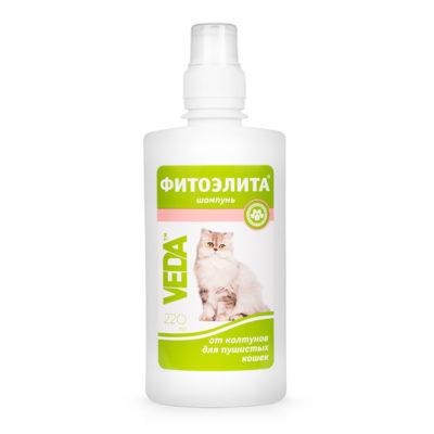 ФИТОЭЛИТА® шампунь от колтунов для пушистых кошек