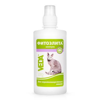 ФИТОЭЛИТА® шампунь для короткошерстных кошек
