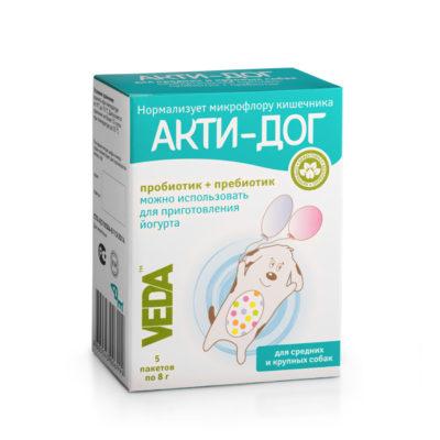 АКТИ-ДОГ функциональный корм для средних и крупных собак