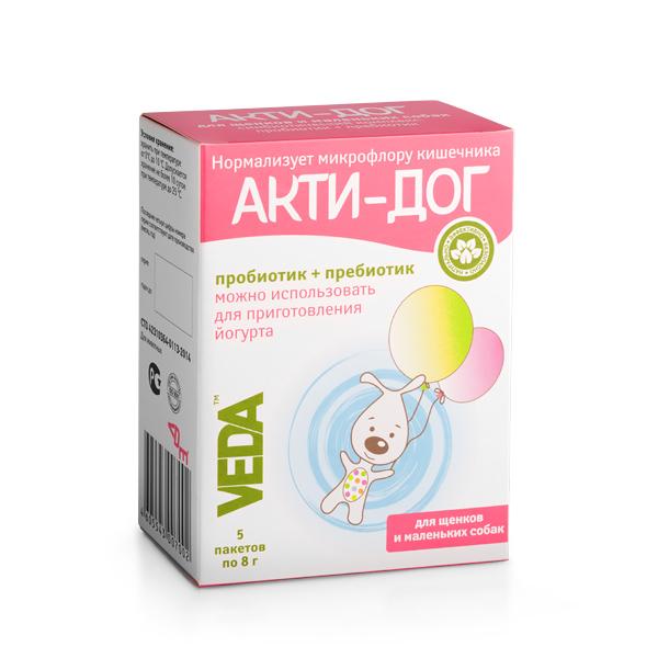 АКТИ-ДОГ функциональный корм для щенков и маленьких собак