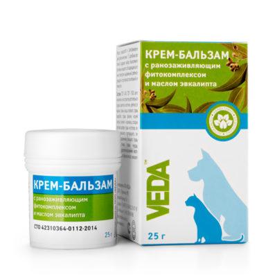 КРЕМ-БАЛЬЗАМ с ранозаживляющим фитокомплексом и маслом эвкалипта