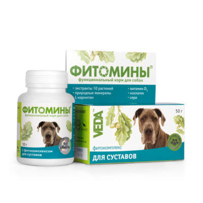 ФИТОМИНЫ® с фитокомплексом для суставов для собак