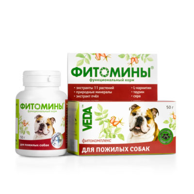 ФИТОМИНЫ® для пожилых собак