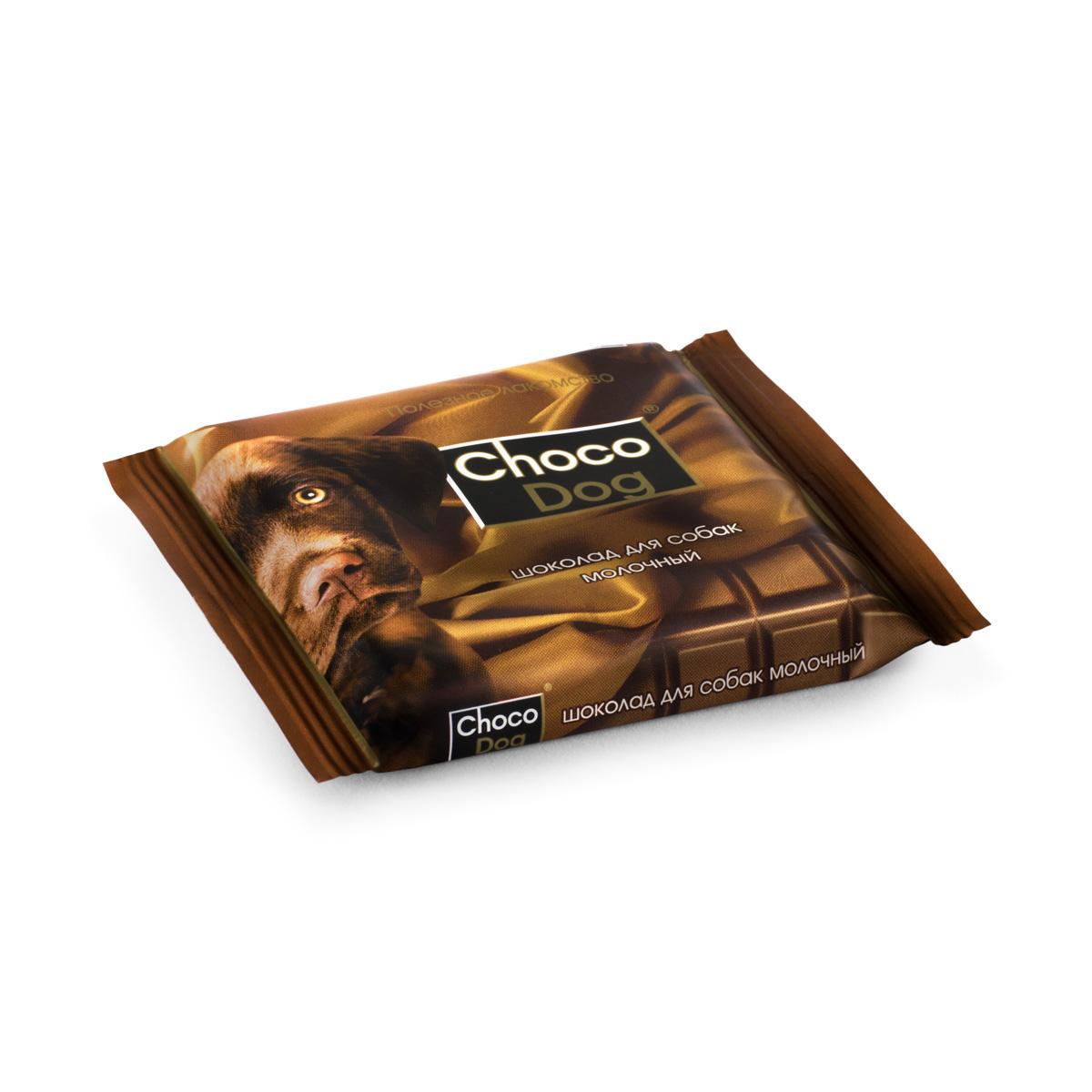 CHOCO DOG® шоколад для собак молочный 85г