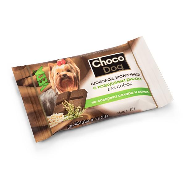 CHOCO DOG® шоколад молочный с воздушным рисом