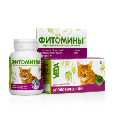 ФИТОМИНЫ® с урологическим фитокомплексом для кошек