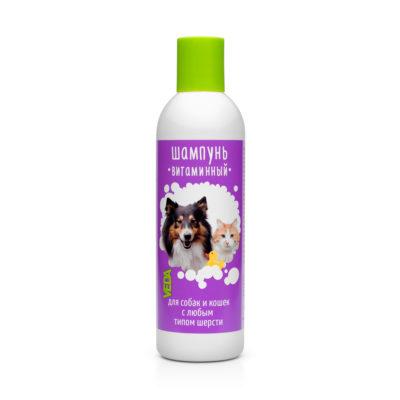 Витаминный шампунь для собак и кошек