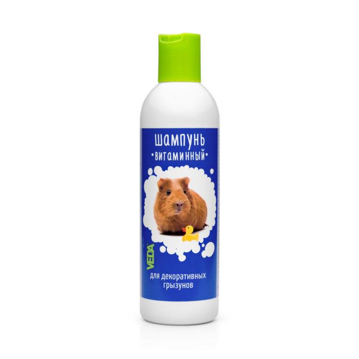 Витаминный шампунь для грызунов