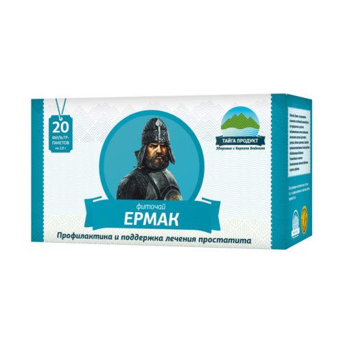 Ермак - фиточай 20 фильтр-пакетов по 2г (мужской)