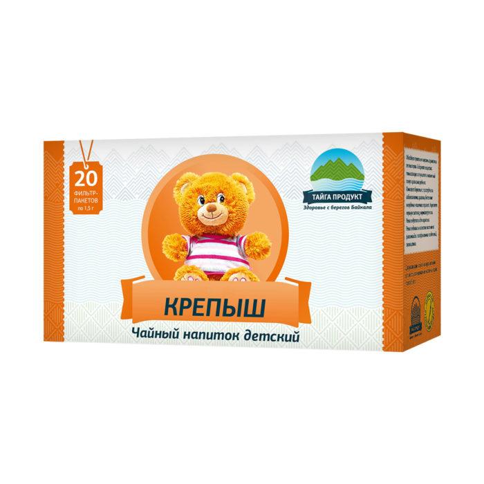 Крепыш - чайный напиток 20 фильтр-пакетов по 1,5г (детский)