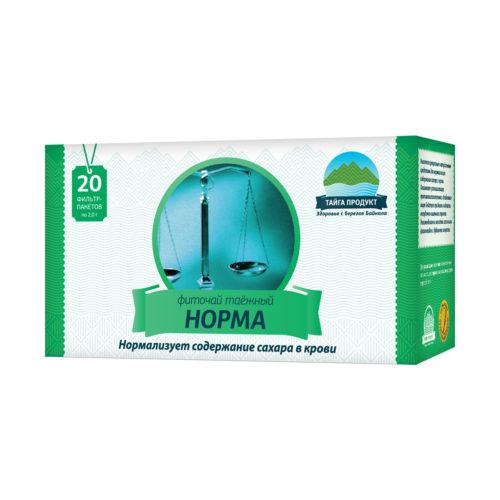 Норма - фиточай 20 фильтр-пакетов по 1,5г (диабетический)