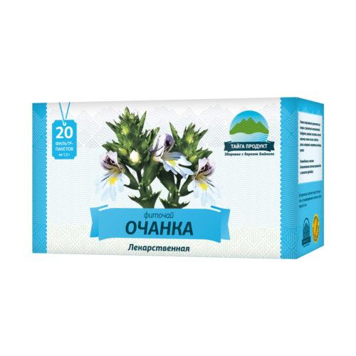 Очанка лекарственная - фиточай 20 фильтр-пакетов по 1,5г (для глаз)