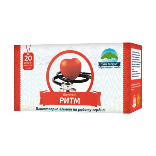 Ритм - фиточай 20 фильтр-пакетов по 1,5г (сердечный)