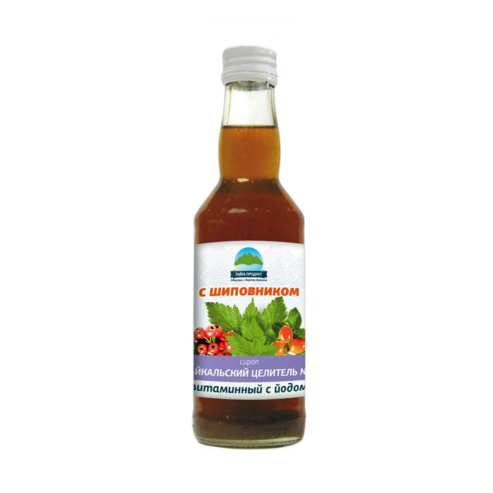 """Сироп """"Байкальский целитель №7"""" (витаминный) с йодом 250мл"""