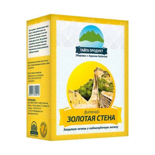 ЗОЛОТАЯ СТЕНА - фиточай 50г (для печени и поджелудочной железы)