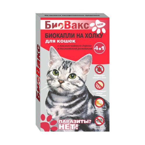 Капли Биовакс репеллентные для кошек